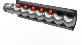 Die Rotor-Stator-Geometrie des Endloskolben-Prinzips ermöglicht eine schonende Dosierung – sogar von feststoffbeladenen oder stückigen Medien.