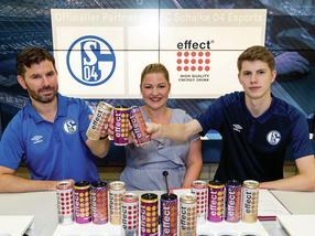 from left: Tim Reichert, Chief Gaming Officer FC Schalke 04 Esports, Lena Homburg, Brand Management effect®, and Tim