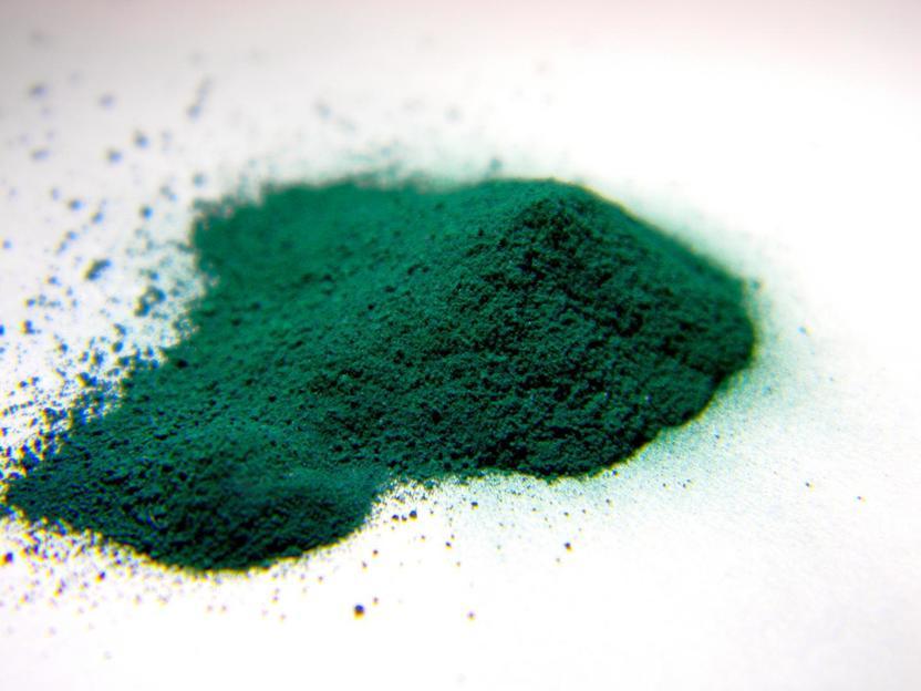 Untersuchung von anorganischen Pigmenten mit Apatitstruktur