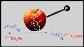 Die Zugabe von Phenyl hat ein Gift für eine chemische Reaktion in der Katalyse nützlich gemacht