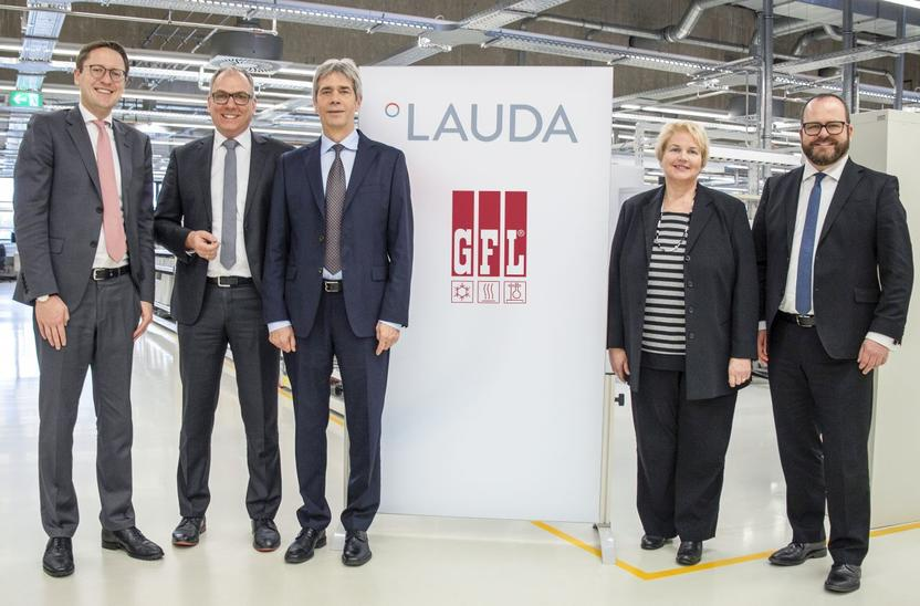 LAUDA übernimmt Labortechnikspezialisten