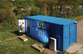 Mobile Fließwasserlabore nehmen Betrieb auf
