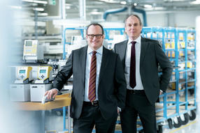Dr. Gunther Wobser y el Dr. Marc Stricker
