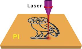 laser writing graphene