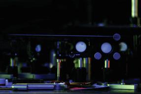 Laser-Lichtfasern für die Untersuchung der Atmosphäre