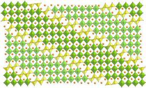 structure of (Pb,Bi)1 - xFe1 + xO3 - y