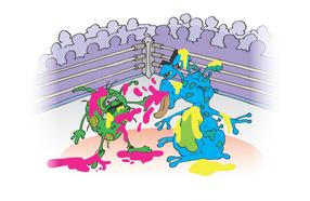 Using bacterial 'fight clubs' to find new drugs