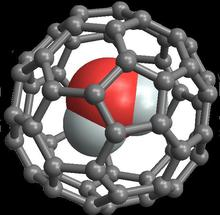 C60 fullerene cage