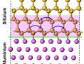 Überraschung im Nanometer-Bereich: Silizium-Atome springen bei Berührung mit Metall