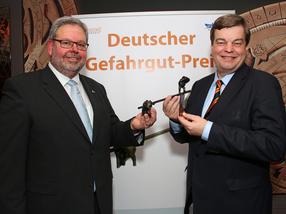 Westfalen AG: Gerhard Lahmann erhält Deutschen Gefahrgutpreis