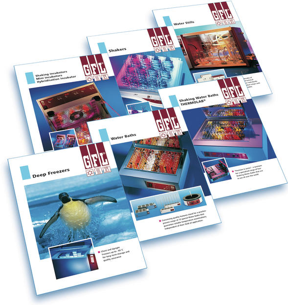 GFL Laboratory Equipment - Current Product Brochures