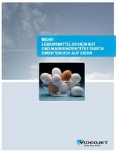 Mehr Lebensmittelsicherheit und Markenidentität durch Direktdruck auf Eiern