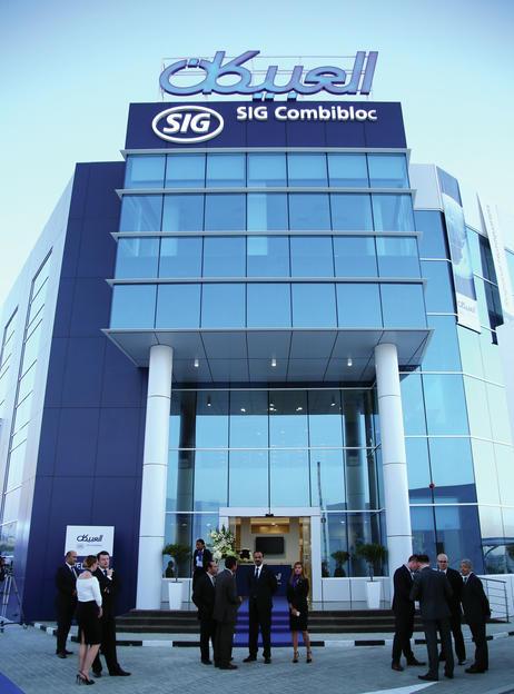 SIG Combibloc Obeikan moves into new headquarters in Dubai