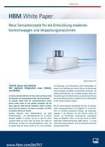 Innovative Sensorkonzepte für die Entwicklung von Kontrollwaagen, Sortier- und Verpackungsmaschinen