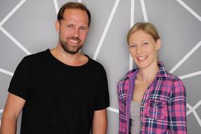 Christina und Tobias Burkhardt Gründer der SHIFTSCHOOL