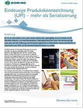 Eindeutige Produktkennzeichnung (UPI) – mehr als Serialisierung