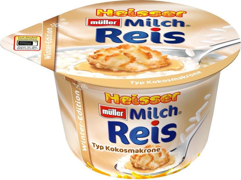 Produktneuheit Müller Heißer Milchreis Ab Sofort Im Kühlregal