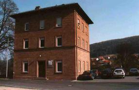 Erstes Firmengebäude in Neustadt a. Main