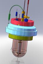 18650 VariPhiTM Sensor in Calorimeter