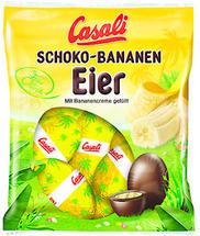 Produktrückruf: CASALI Schokoeier mit Bananencreme gefüllt