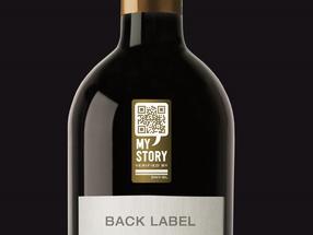 My Story Wine Label Bottle