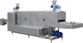 KITZINGER contino Sonderwaschanlage zur rückstandsfreien Entfernung von Teigresten auf Backblechen und Tortenringen