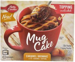 Betty Crocker Caramel Brownie Mug Cake