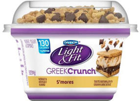 Danone North America Issues Allergy Alert and Recall for Light & Fit Greek Crunch S'mores Flavor