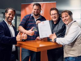 Die Gründer von crowdfoods.com - des ersten Food Startup Verband in DACHLI: Enzo Schrembs, Jay F Kay, Mark Leinemann und Alex Heger (v.l.n.r)
