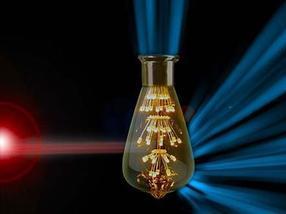 Novel materials convert visible into infrared light