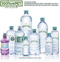 """Vöslauer schafft den nächsten Nachhaltigkeits-Meilenstein - Umstellung aller """"ohne"""" PET-Flaschen auf 100 % rePET"""