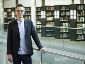Professor Halaszovich unterstützt Studierende der Jacobs University dabei, ihre Startup-Ideen zu verwirklichen