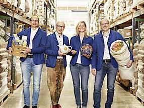 Die neue Geschäftsführung von SONNENTOR: Klaus Doppler, Johannes Gutmann, Manuela Raidl-Zeller und Gerhard Leutgeb.