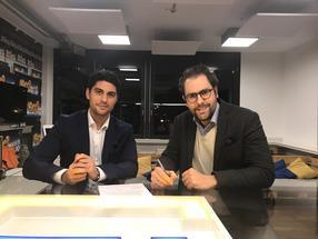 Verbandsvorstand: Sebastian Biedermann (links) und Fabio Ziemßen wollen Bewegung in die Lebensmittelbranche bringen.