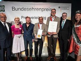"""Brauhaus Riegele erhält zum dritten Mal in Folge den Bundesehrenpreis in Gold und ist damit erneut """"Brauerei des Jahres"""""""
