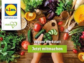 Lidl-Vegan-Konfigurator und Vegan-Workshop als innovative Tools zur Kundeneinbindung in die Sortimentsgestaltung.