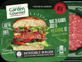 Testsieger: Der Incredible Burger von Garden Gourmet.
