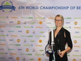 Elisa Raus ist neue Weltmeisterin der Biersommeliers