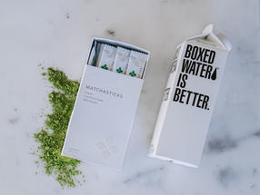 Boxed Water Is Better today announced the launch of Boxed Matcha in collaboration with mission-driven tea importer Art of Tea