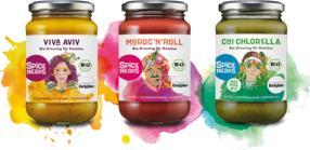 SpiceNerds launcht drei neue Dressings für Gemüse
