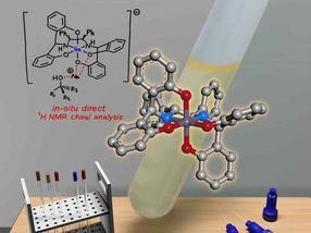 Gallium-basiertes Lösemittel analysiert effizient optisch aktive Alkohole