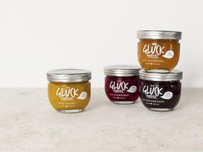 Innerhalb von zwei Jahren ist die Marke GLÜCK in die Topliga der Konfitürenmarken aufgestiegen