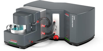 Partikelmessgerät mit Ultraschall-Box