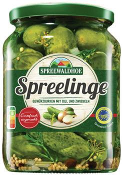 Bekanntestes Produkt der Marke Spreewaldhof