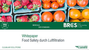 Food Safety durch Luftfiltration