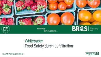 Food Safety durch Luftfiltration