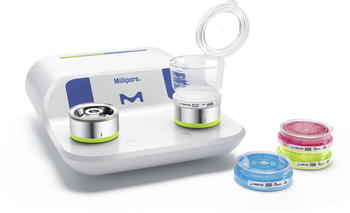 Milliflex Oasis® filtration system for bioburden testing, designed for pharma QC labs.