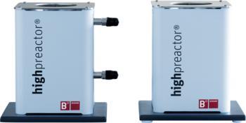 Berghof Thermostatisiermantel BTM und elektrischer Heizmantel BHM