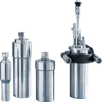Berghof Druckbehälter DAB und metallfreie Reaktoren DB