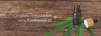 Cannabinoid production using continuous LC